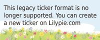 Lilypie 2° comp Ticker