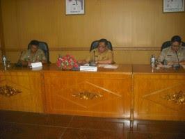Kesbangpolinmas Gelar Rapat koordinasi Kesiapan Tim Desk