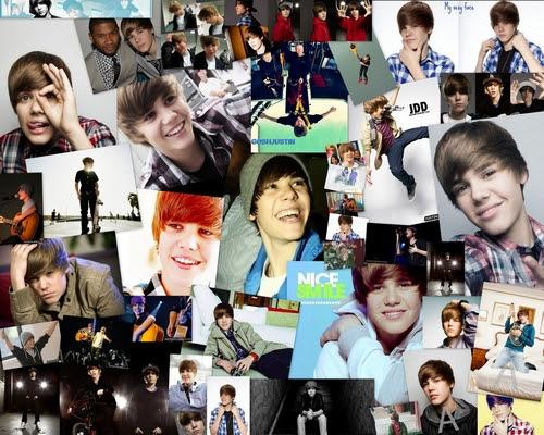 Justin Bieber Twitter Backgrounds Justin Bieber - Wallpaper collage.