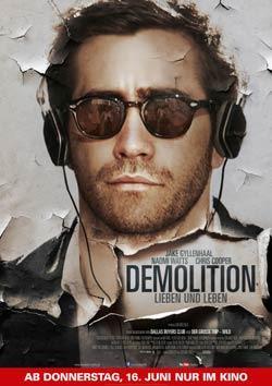 Demolition - Lieben und Leben Filmplakat