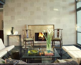 440 House contemporary living room