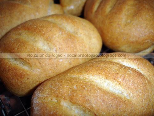 Pão integral depois