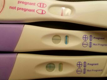 Equate Pregnancy Test False Positive Blue Dye Pregnancy Symptoms
