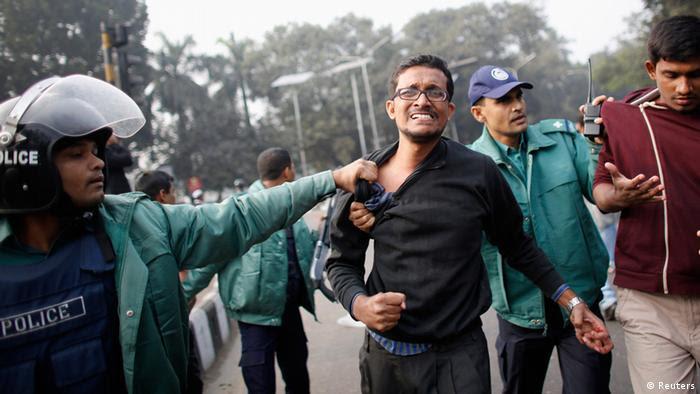 Bangladesch Aktivist Hizb-ut-Tahrir Dhaka Zusammenstöße Polizei (Reuters)