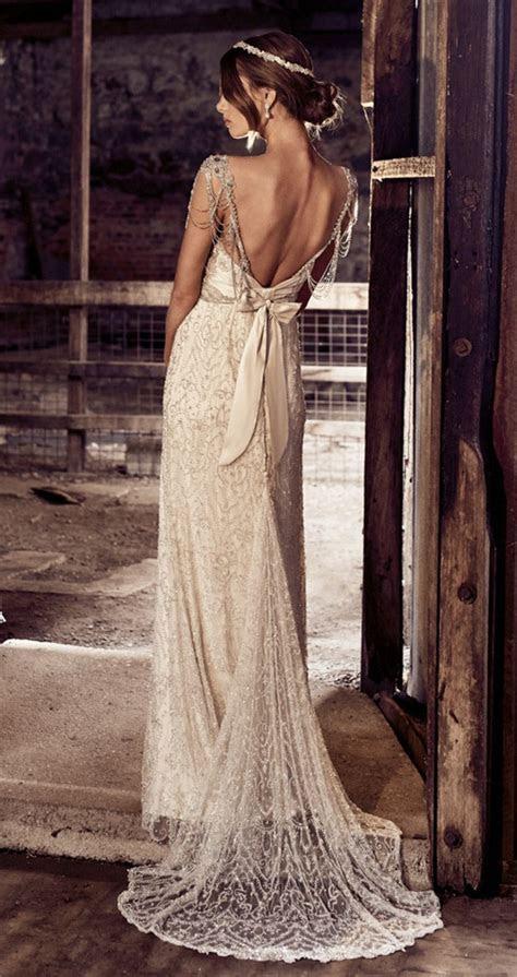 chloe anna campbell vintage old Hollywood wedding dress