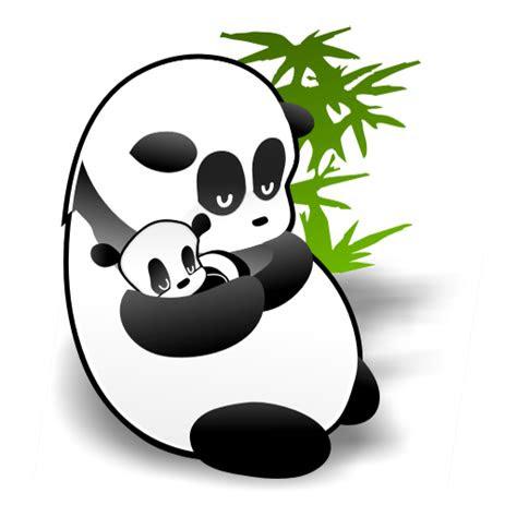 panda mother icon panda dock icons softiconscom
