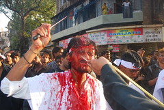 The Shias Cut And Bleed ..Curse The Father of Terrorism Yazeed by firoze shakir photographerno1
