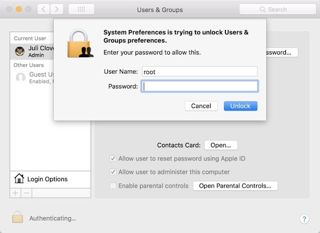 Major macOS High Sierra Security Vulnerability Allows Full Admin Access Without Password, So Here Is A Fix For It