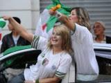 supportrices joie Algérie  Coupe du Monde 2014