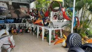 Feira de móveis 100% recicláveis na Câmara de Natal arrecada recursos para a causa animal