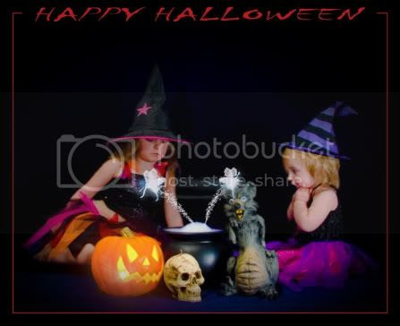 Happy Halloween Conjuring Fairies