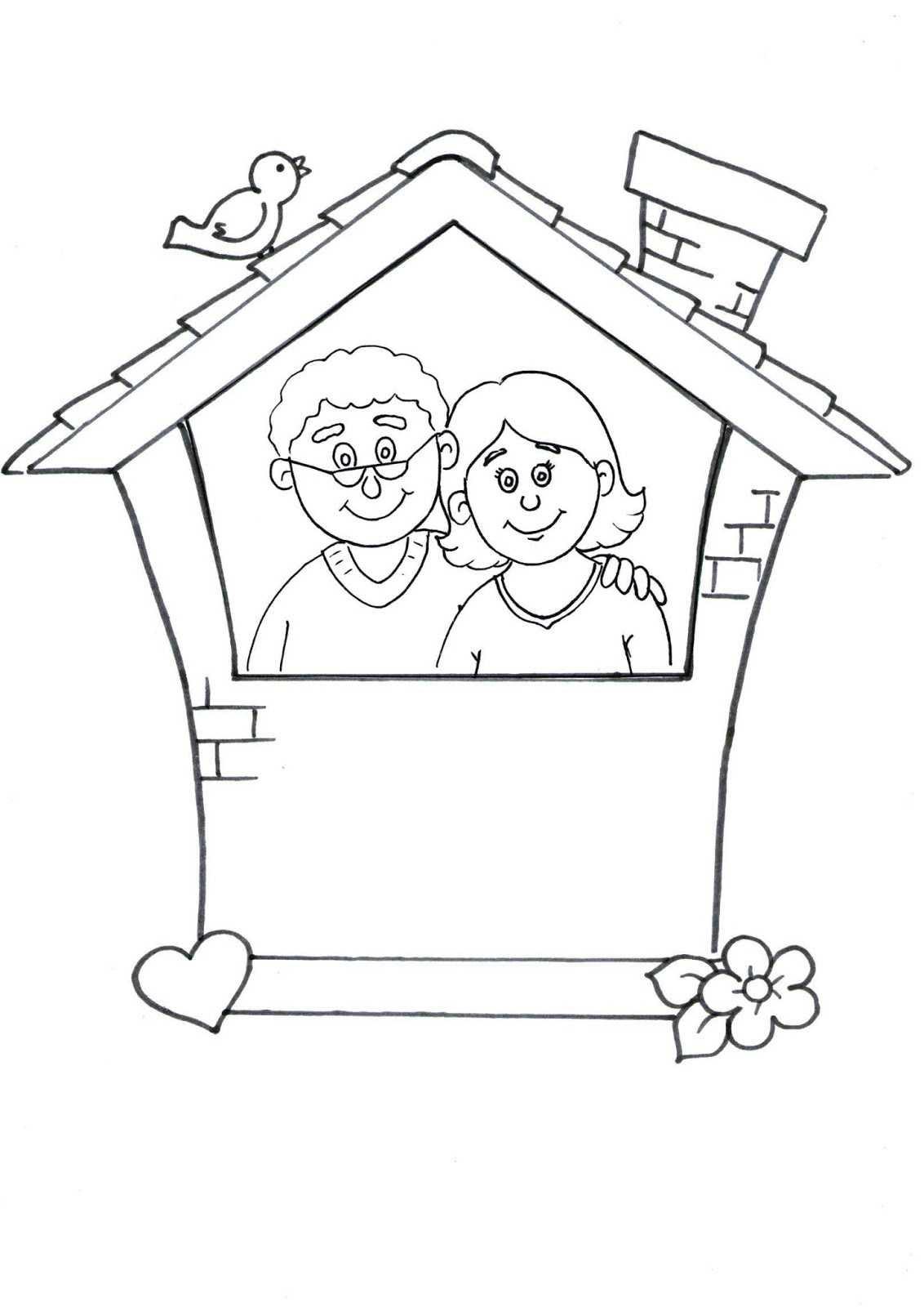 Anne Baba Sevgisi çerçeve Etkinliği Okul öncesi Etkinlik