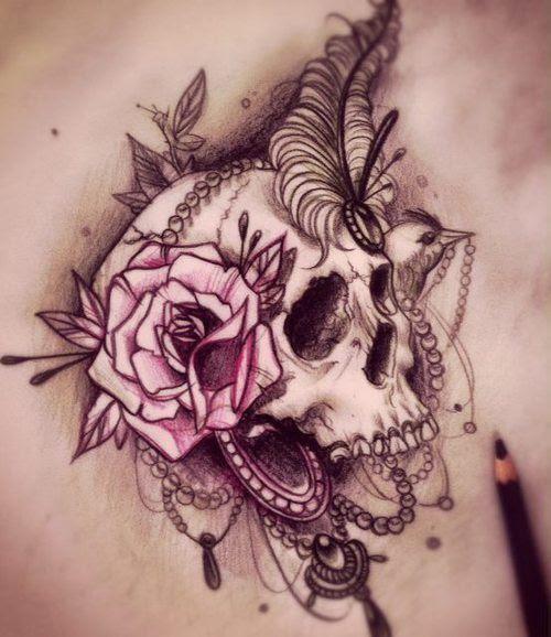 Tatuajes De Calaveras Para Mujer