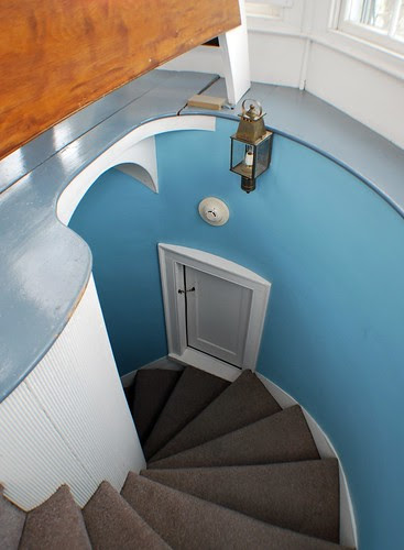 Spiral Staircase in the Cupola