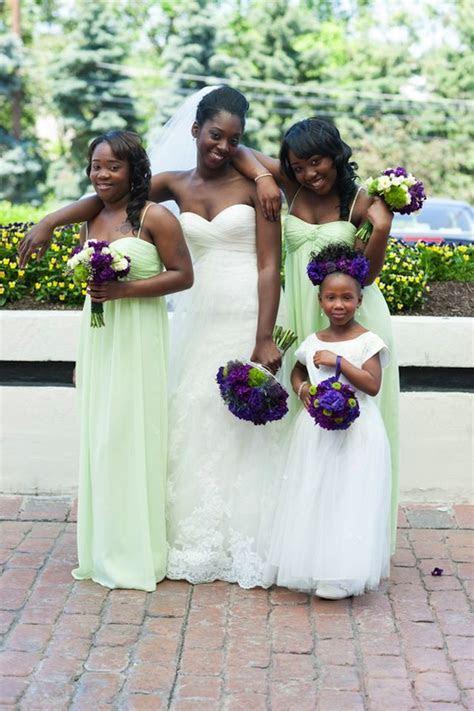 Wedding Wednesday: Purple   Lime   Beautiful Blooms