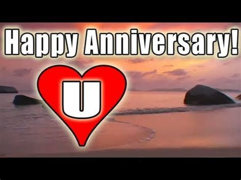 HAPPY ANNIVERSARY E card video FREE BOLERO romantic LOVE