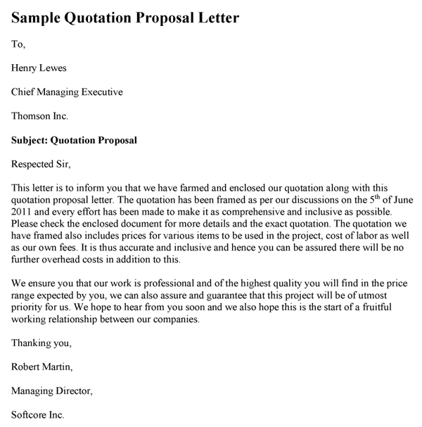 Quotation Letter Template Psychology Work on business proposal template, insurance template, proposal form template, financial statement template, investment template, course development template, memo template, interview schedule template, profit template, diamond template, invitation template,