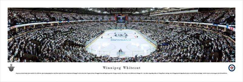 Winnipeg Jets Whiteout Nhl Sports Hardboards Wall Decor