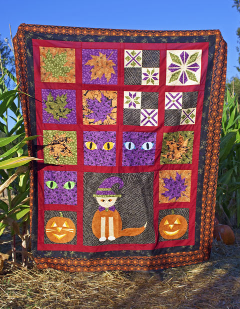 Halloween Quilt Patterns   Whims And Fancies
