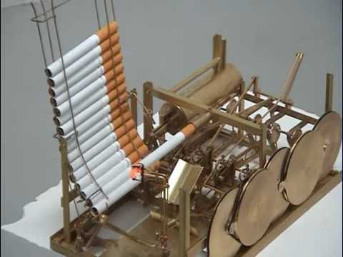 video que muestra una Maquina para Fumar