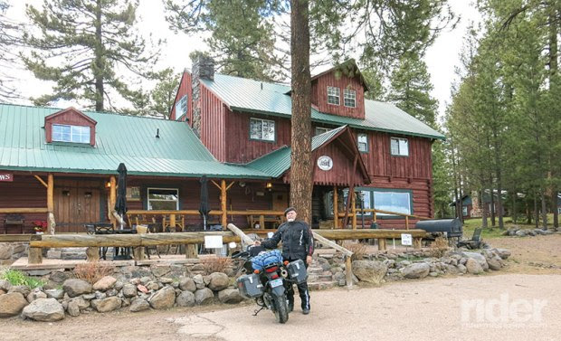 Other than a few ranches, only one business exists along the 90 miles of the Devil's Highway, the very pleasant Hannagan Meadow Lodge, sitting at 9,100 feet.