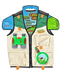 kids nature exploring cargo vest