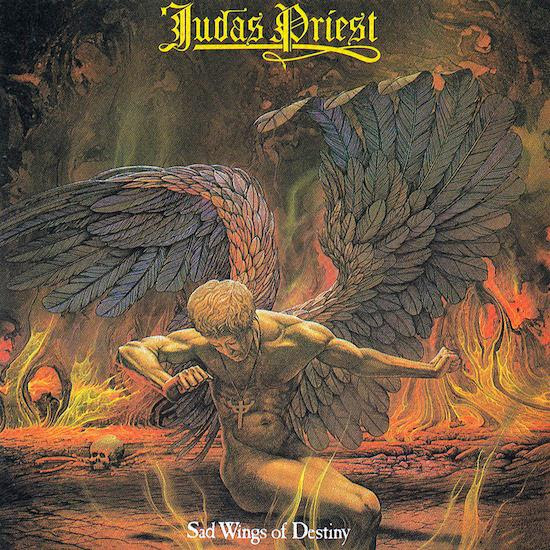 Resultado de imagen para judas priest sad wings of destiny