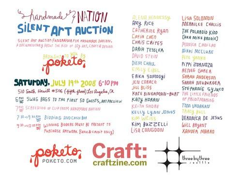 Silent Art Auction Event!!!
