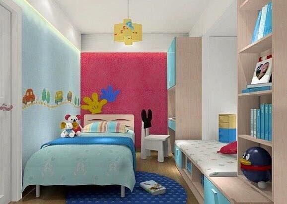 Desain Kamar Tidur Hello Kitty Sederhana - Denah Rumah