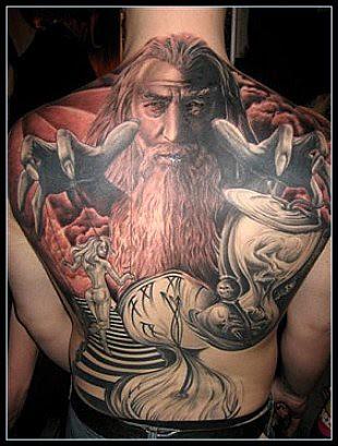 Dibujo De Tatuaje Tribal Para La Espalda Baja Para Las Personas