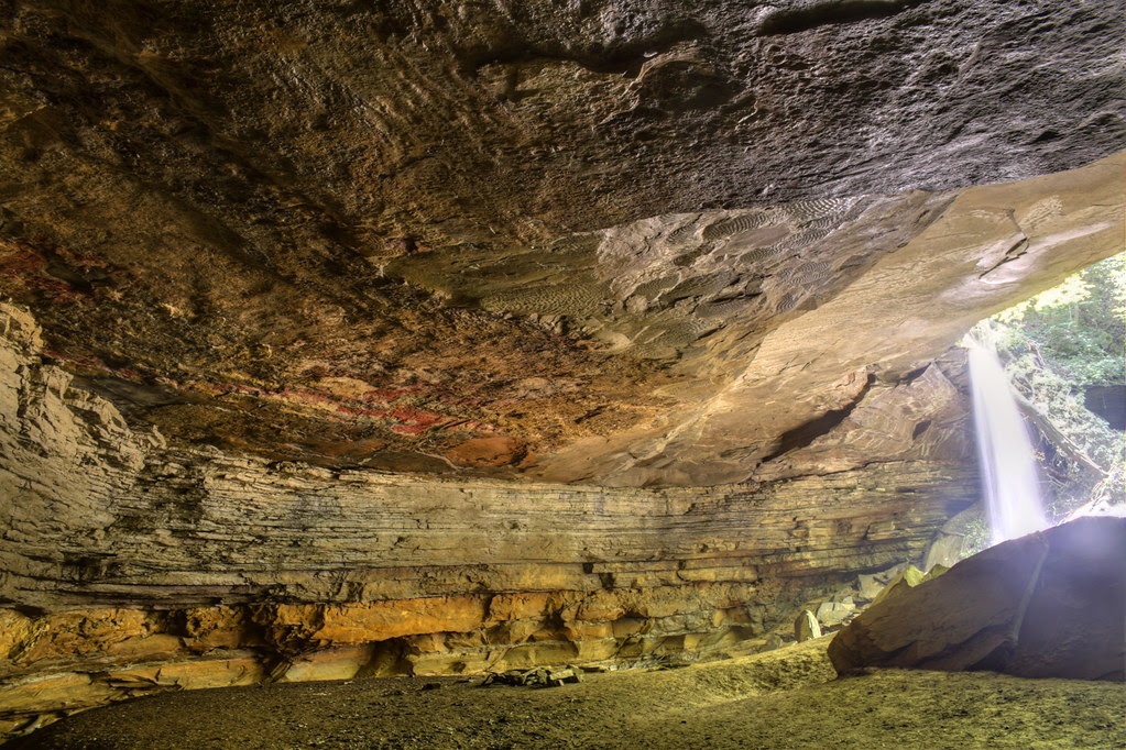 Big Laurel Creek Cave 1, Virgin Falls SNA, White Co, TN
