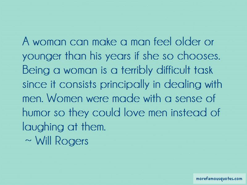 Older Woman Younger Man Love Quotes Top 1 Quotes About Older Woman