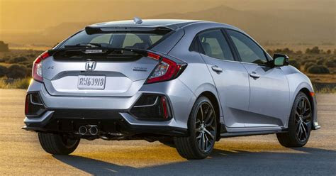honda civic hatchback facelift debuts    paul