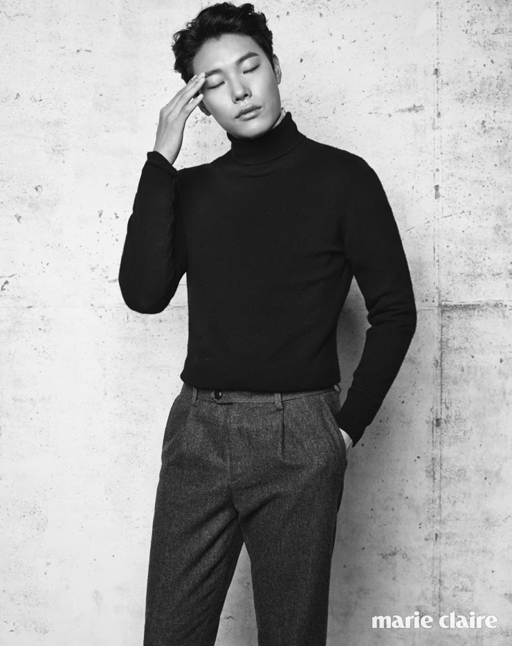 Ryu Jun Yeol for Marie Claire Korea February 2016. Photographed By Kim Young Joon
