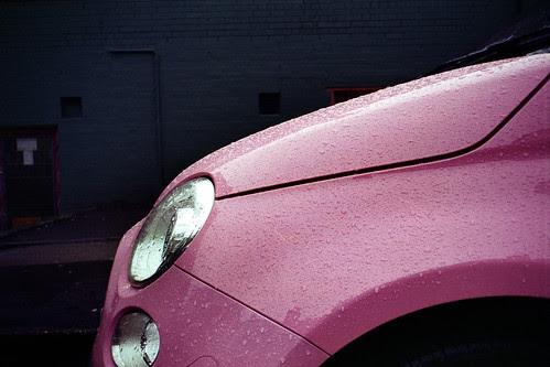 pink raindrops by pho-Tony