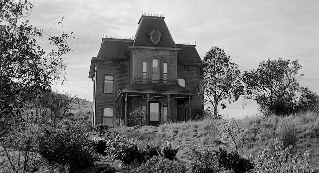 Bates home as seen in <i>Psycho</i> (1960)