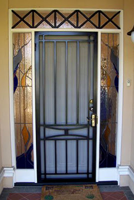Iron Curtains Adelaide Wrought Iron Security Doors And Window