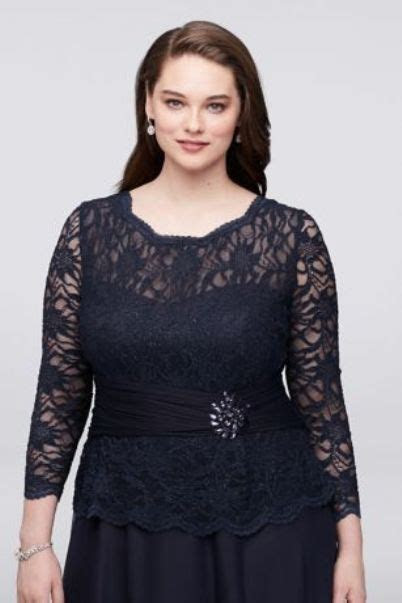 Plus Size Dressy Tops For Wedding   Attire Plus Size