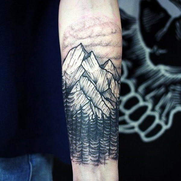 Deep and Super Cool Forest Tattoo Ideas (20)