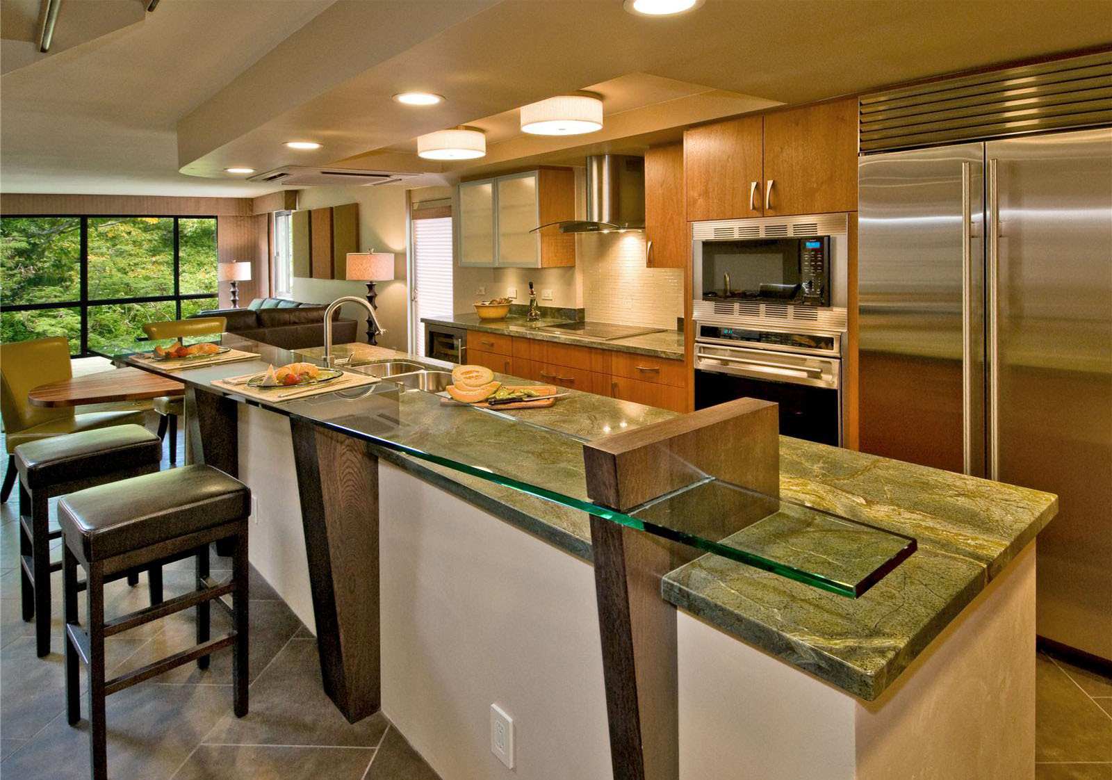 Open Kitchen Designs With Island. Open Kitchen Designs With Island ...