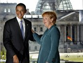 Obama besucht Berlin 2008