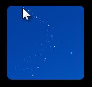 Cursor Snowflakes