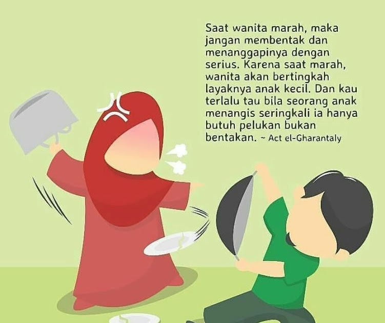 Kata Kata Mutiara Islam Bergambar Kartun Muslimah - Status ...