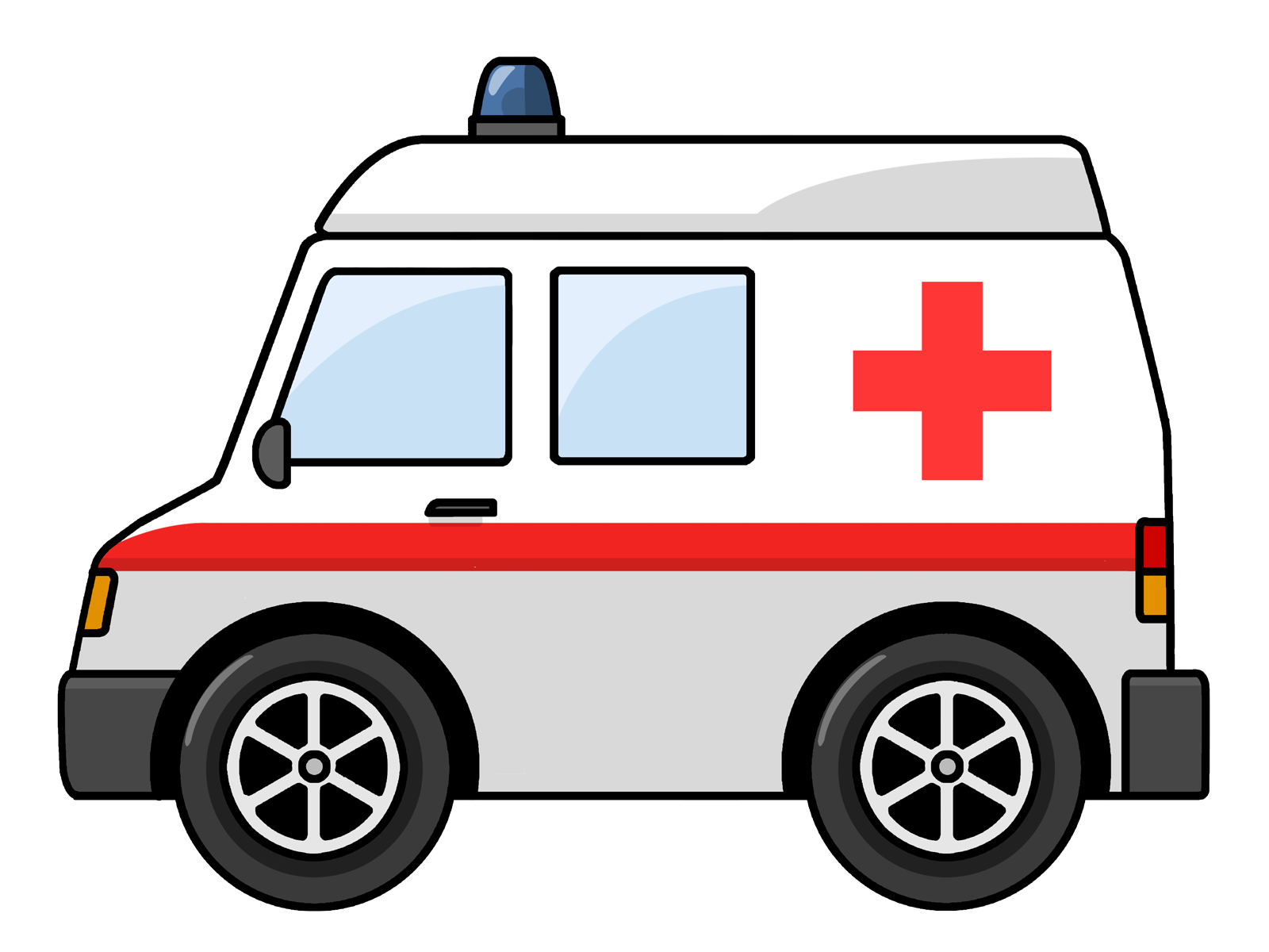 Free to Use Public Domain Ambulance Clip Art
