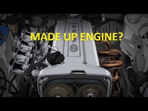 Initial D Ae86 Engine Bay