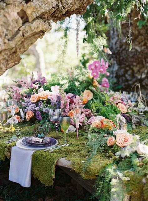 10 Dreamy Ideas For An Enchanted Woodland Wedding   Bajan