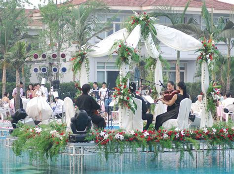 Poolside Wedding  Poolside Wedding  Wedding  Homeland Hotel