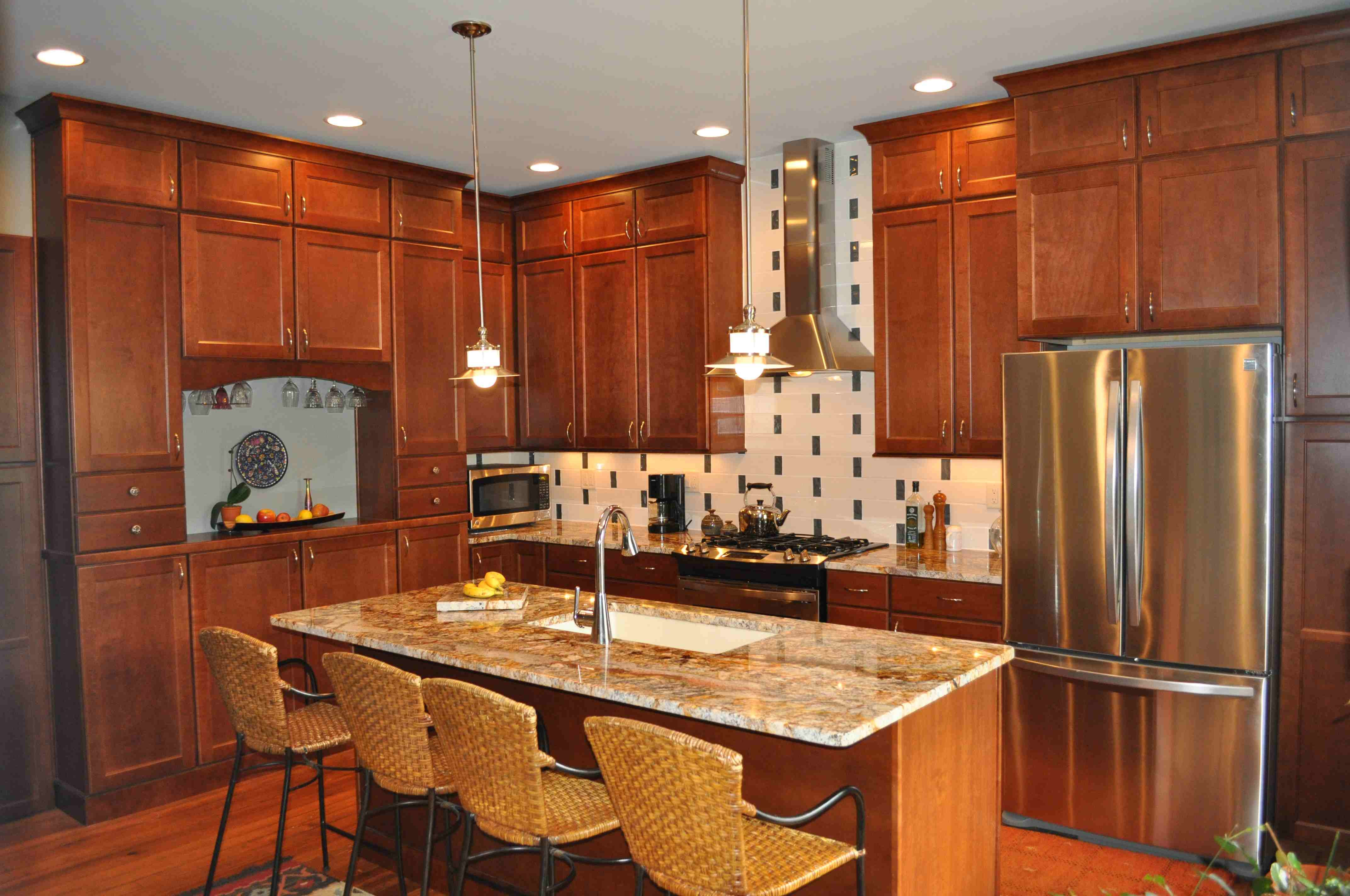Most Popular Wood For Kitchen Cabinets  Galley Kitchen