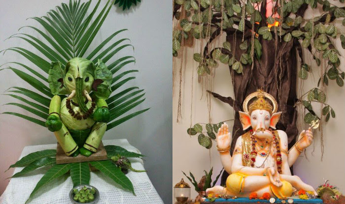 Easy Home Decoration Ideas For Ganpati