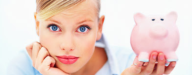 Woman with piggybank(Thinkstock)